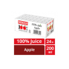 Marigold 100% Juice - Apple (200ml x 24pkt)