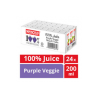 Marigold 100% Juice - Purple Veggie  and  Mixed Fruits (200ml x 24pkt)