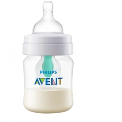 Philips Avent Anti-Colic Bottle 4oz/125ml (Single Pack) (with Airfree Vent)