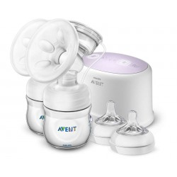 Philips Avent Double Electric Breast Pump FREE Mummy Cooler Bag worth RM50