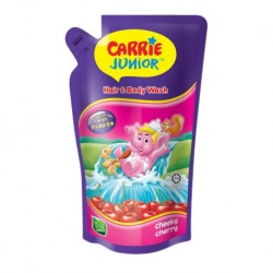 Carrie Junior Hair & Body Wash Pouch - Cheeky Cherry (500g)