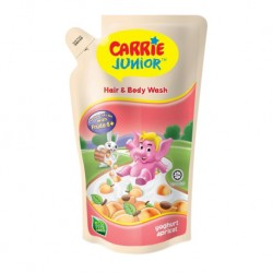Carrie Junior Hair & Body Wash Pouch - Apricot Yoghurt (475g)