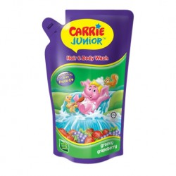 Carrie Junior Hair & Body Wash Pouch - Groovy Grapeberry (500g x 2)