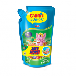 Carrie Junior Bath Pouch - Groovy Grapeberry (500g x 2)
