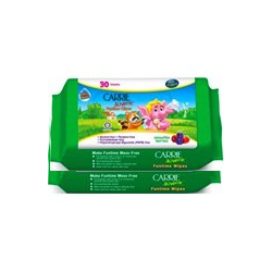 Carrie Junior Funtime Wipes - Smoothie Berries (30s x 2)