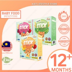 Natufoodies Finger Food - 12m+ (50g x 3) [Trio Combo] [HALAL]