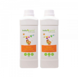 BabyOrganix Kids Wear Liquid Cleanser - Twin Pack (1000ml)