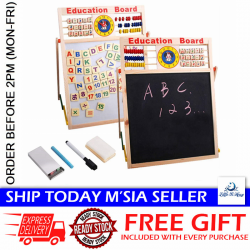 Little B House Wooden Double-sided Whiteboard Drawing Board Toys - BT106