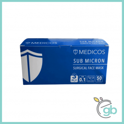 Medicos 3 Ply Surgical Face Mask (Blue Box)