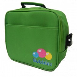 Bubbles Premium Cooler Bag with Sling / Handle (Green)