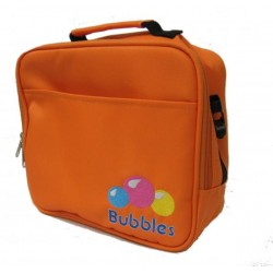 Bubbles Premium Cooler Bag with Sling / Handle (Orange)