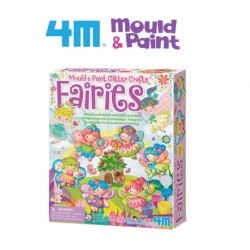 4M Mould and Paint (Glitter Fairies)