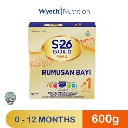 Wyeth S-26 Gold SMA 600g (Upgraded Formula) ( Expiry Date 15/2/2022 )