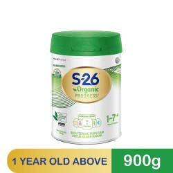 Wyeth S-26 Organic Progress 900g (For Children 1 Year and Above) (Expiry Date : 28/9/2022)