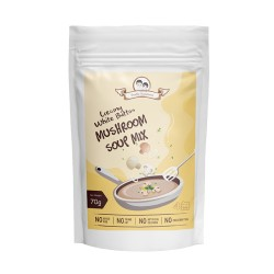 Double Happiness Creamy White Button Mushroom Soup Mix 70g