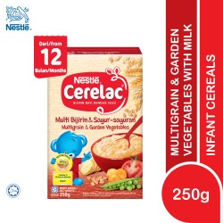 Nestle Cerelac Infant Cereals With Milk Multigrain and Vegetables (250g)