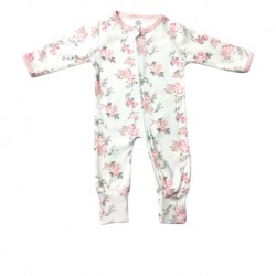 Luvable Friends Little Star Baby Zips Sleepsuit with Cover - LS55256C