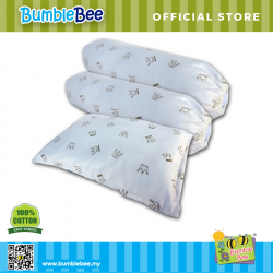 Bumble Bee Pillow and Bolster Set (Knit Fabric)