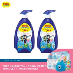 Carrie BacBuster Twin Set FREE Shark Toy + Trial Set + Sanitizer