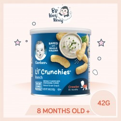 BB King Kong Gerber Lil Crunchies Ranch 42g Canister