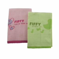 FIFFY Baby Bath Towel ( 2pcs Value Pack) -19467870