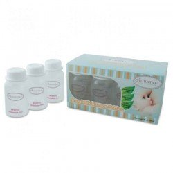 Autumnz Breastmilk Storage Bottles (10 btls) - White
