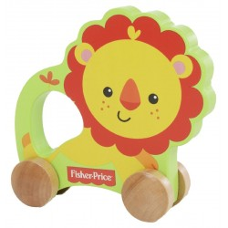 Fisher Price Lion on Wheels