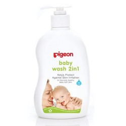 Pigeon Sakura Baby Wash 2 in 1, 500ml