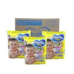 MamyPoko Pants Standard L48 (3 Packs) New Packaging