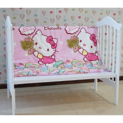 Baby Comforter Only (Blanket) Made From 100% Cotton Fabric (Selimut Bayi) Hello Kitty
