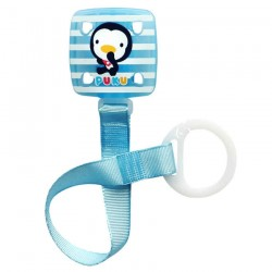 PUKU Baby Soother Pacifier Chain Clip Blue P11114