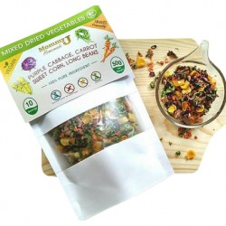 MommyJ Healthy Homemade Mixed Dried Vegetables / Travel Friendly
