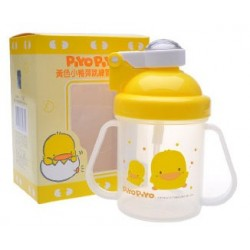 Piyo Piyo Training Cup w/Pop up Lid 250cc
