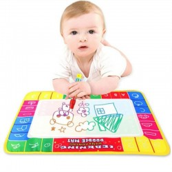 Water Drawing Painting Writing Magic Pen Doodle Mat Toy Early Learning 29X19cm -BT36