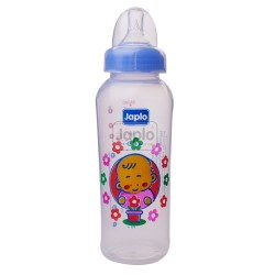 Japlo Round 240Ml Feeding Bottle (Without Handle)- Hanging Card