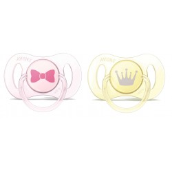 Philips Avent Mini Soother (0 - 2 Months) - Twin Pack