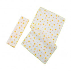 Piyo Piyo Burp Cloths Set 2 pcs