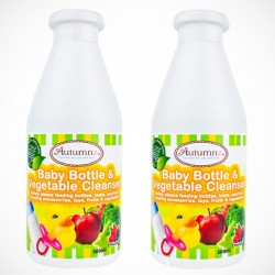 Autumnz Baby Bottle & Vegetables Cleanser (500ml) *Twin Pack*