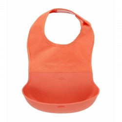 OXO TOT Roll Up Bib - Orange