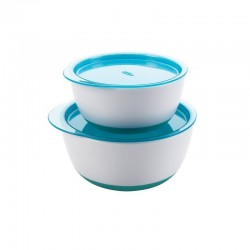 OXO TOT Small & Large Bowl Set - Aqua