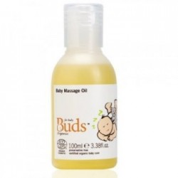 Buds Cherished Organics Baby Massage Oil 100ml