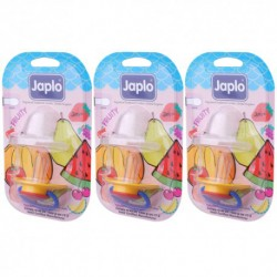 Japlo Fruity Olive Pacifier  - 1 pcs x 3 Blister Cards (3 Blister Cards in 1)