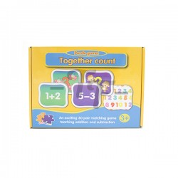 Toys Funtastic Educational Matching Puzzle - Addition And Subtraction (30 Sets)