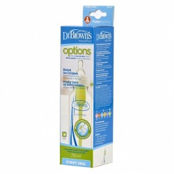 Dr Brown Option PP Narrow-Neck Baby Bottle (250ml/8oz) - 1Pcs