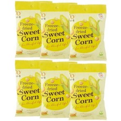 Wel.B Freeze Dried Sweet Corn Bundle (6 packets)