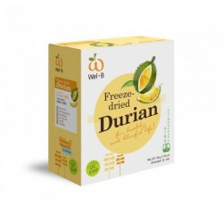 Wel.B Freeze Dried Durian (2 boxes)