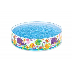 Intex (6 Ft x 15 Inch) Ocean Play Snapset Pool