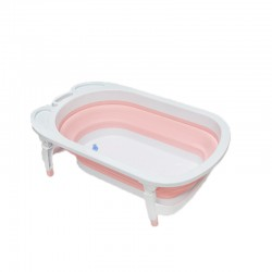 BabeSteps Foldable Bath Tub (Pink)