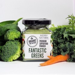 Merry Nation Organic Fantastic Greens Powder (100g)
