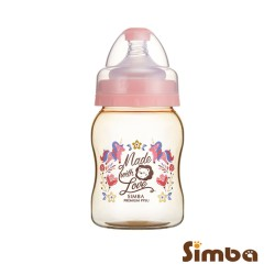 Simba Dorothy Wonderland PPSU Feeding Bottle-Wide Neck 200ml-pink